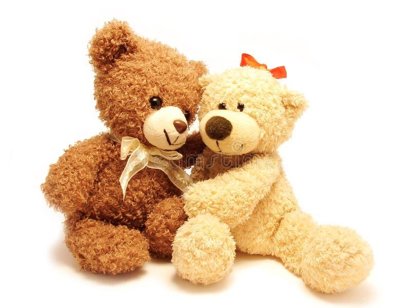 αντέχει ρομαντικό teddy στοκ εικόνες με δικαίωμα ελεύθερης χρήσης