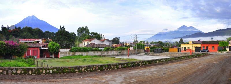 Αντίγουα Γουατεμάλα στοκ εικόνες με δικαίωμα ελεύθερης χρήσης
