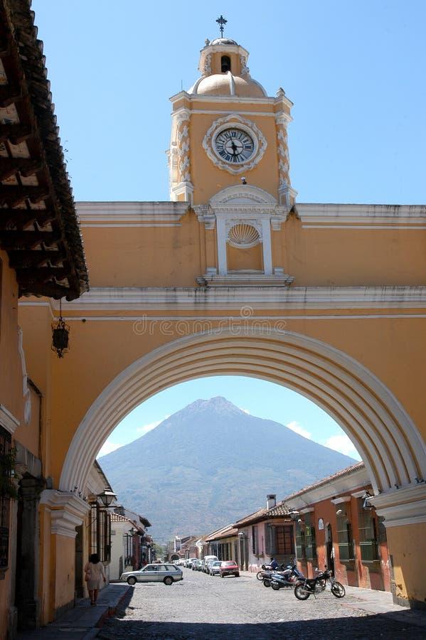 Αντίγουα Γουατεμάλα στοκ φωτογραφία με δικαίωμα ελεύθερης χρήσης