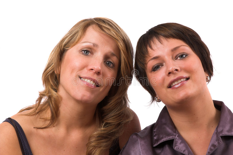αντίθετες αδελφές στοκ εικόνες με δικαίωμα ελεύθερης χρήσης