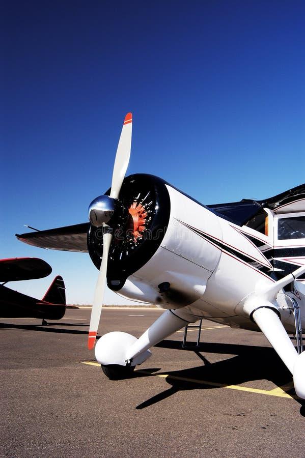 αντίκα 7 αεροσκαφών στοκ φωτογραφία με δικαίωμα ελεύθερης χρήσης