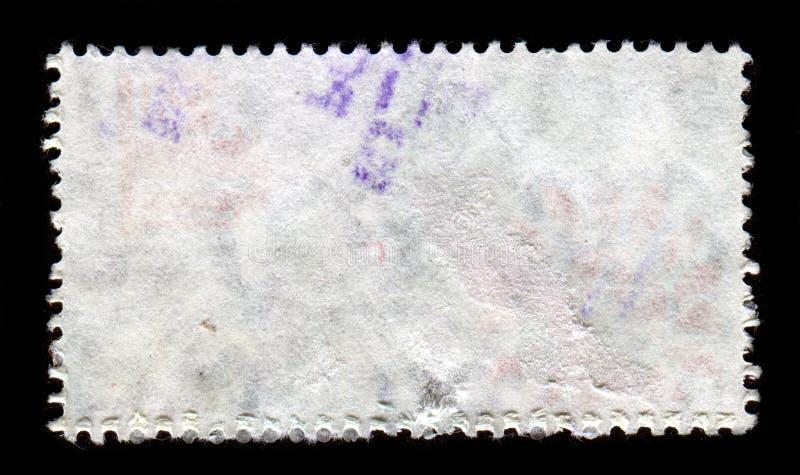 Αντίστροφη πλευρά ενός γραμματοσήμου στοκ φωτογραφία με δικαίωμα ελεύθερης χρήσης