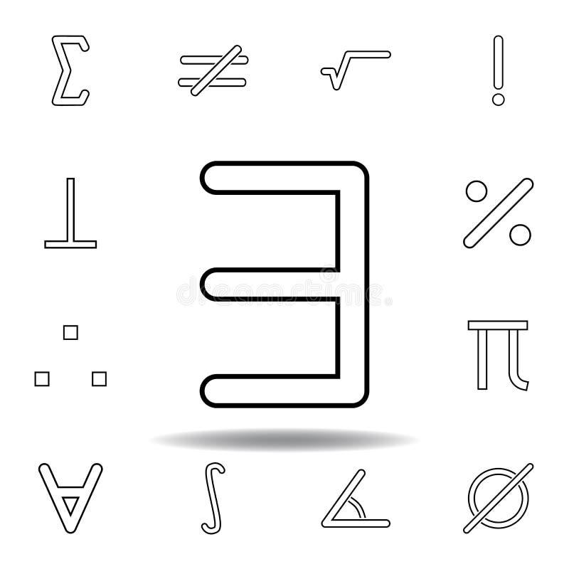 αντίστροφο εικονίδιο ε Λεπτά εικονίδια γραμμών που τίθενται για το σχέδιο ιστοχώρου και την ανάπτυξη, app ανάπτυξη r απεικόνιση αποθεμάτων