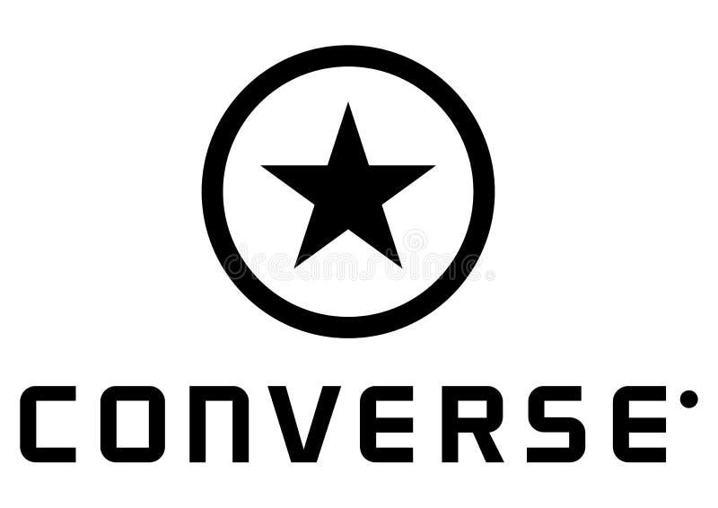 Αντίστροφο λογότυπο διανυσματική απεικόνιση