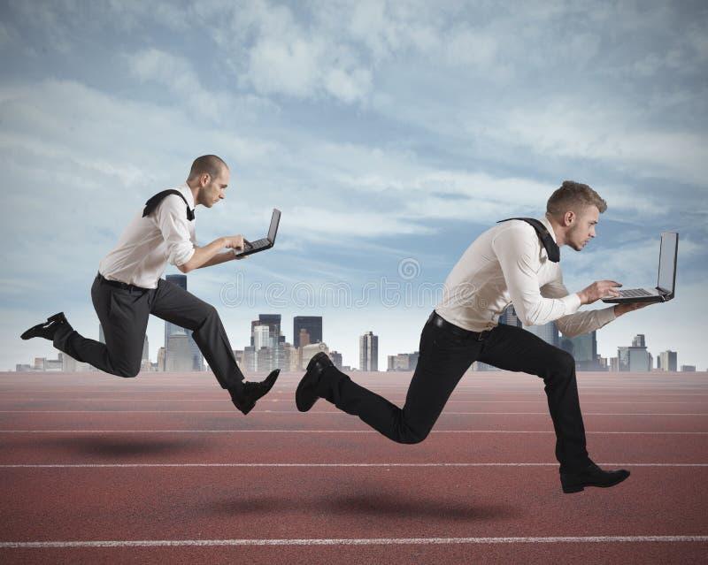 Ανταγωνισμός στην επιχείρηση στοκ εικόνα με δικαίωμα ελεύθερης χρήσης