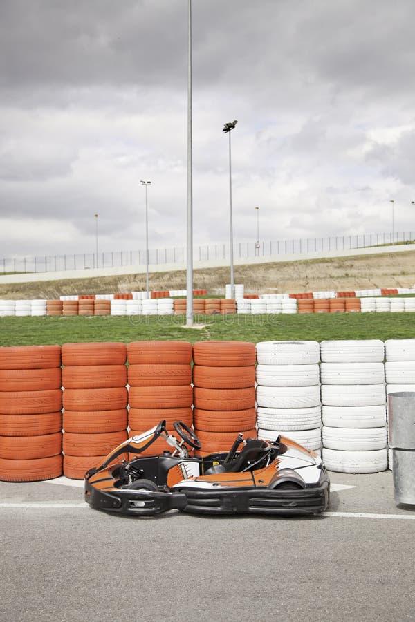 Ανταγωνισμός Kart στοκ φωτογραφίες με δικαίωμα ελεύθερης χρήσης
