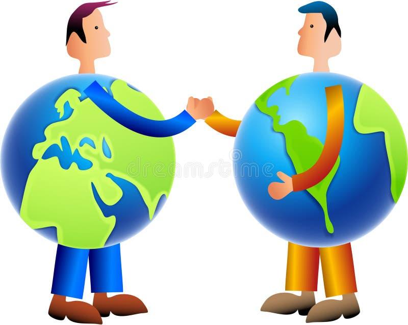 Download ανταλλάξτε τον κόσμο απεικόνιση αποθεμάτων. εικονογραφία από περιβαλλοντικός - 98583