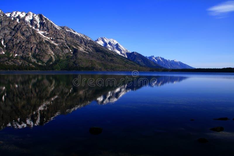 αντανάκλαση λιμνών της Jenny στοκ εικόνα με δικαίωμα ελεύθερης χρήσης