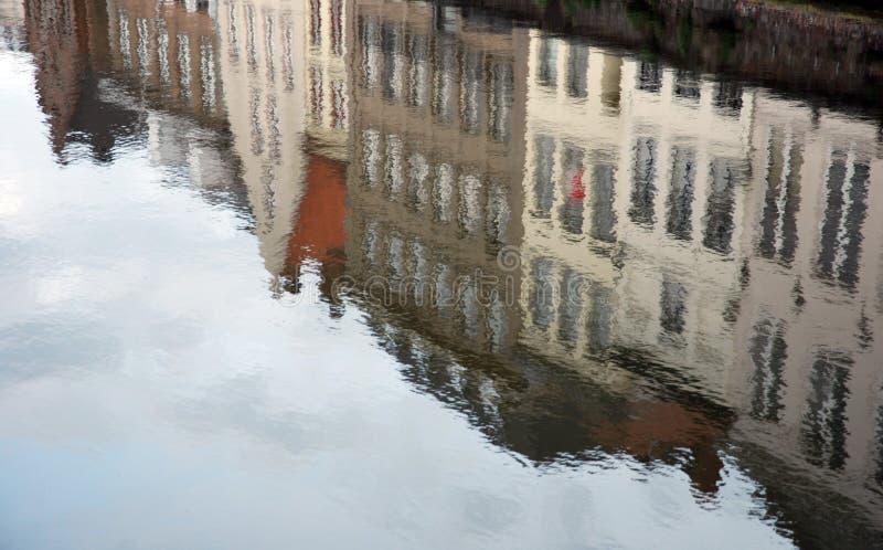 αντανάκλαση του Βελγίο&u στοκ φωτογραφίες με δικαίωμα ελεύθερης χρήσης