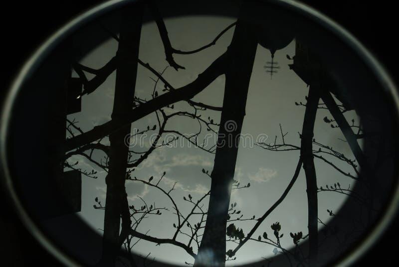 Αντανάκλαση καθρεφτών τοπίων στοκ εικόνες