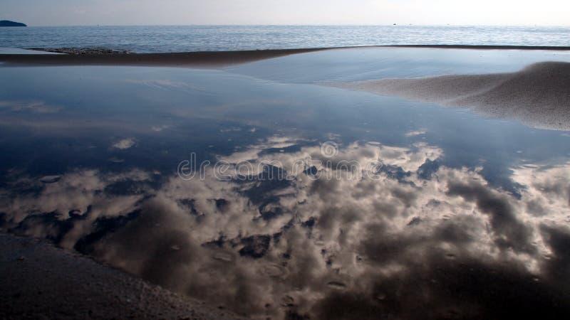 Αντανάκλαση ουρανού στοκ φωτογραφία με δικαίωμα ελεύθερης χρήσης