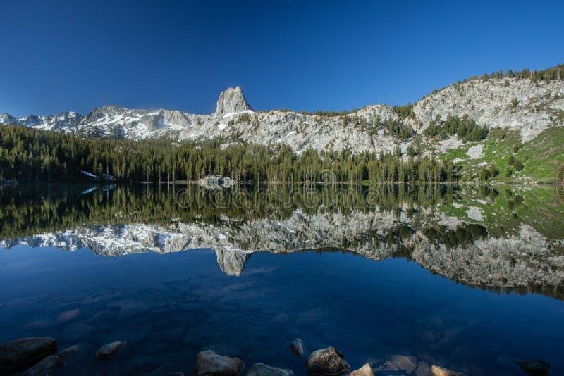 Αντανάκλαση του George λιμνών στοκ εικόνες