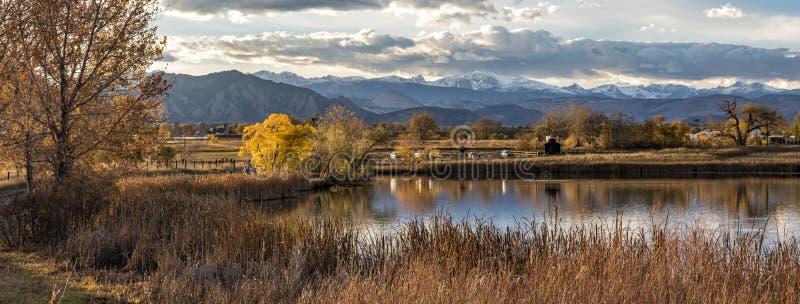 Αντανακλάσεις βουνών λιμνών Stearns στοκ φωτογραφίες με δικαίωμα ελεύθερης χρήσης