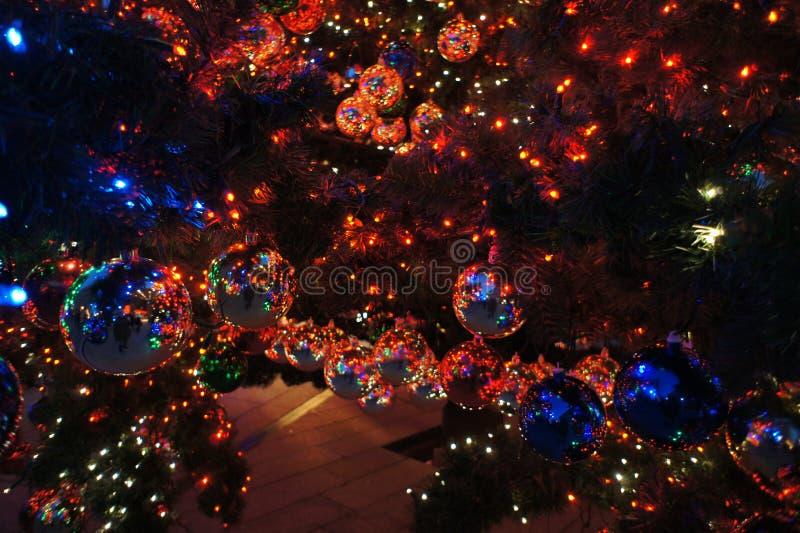 Αντανακλάσεις Χριστουγέννων στοκ φωτογραφία με δικαίωμα ελεύθερης χρήσης