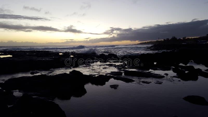 Αντανακλαστικό ηλιοβασίλεμα στοκ εικόνα με δικαίωμα ελεύθερης χρήσης