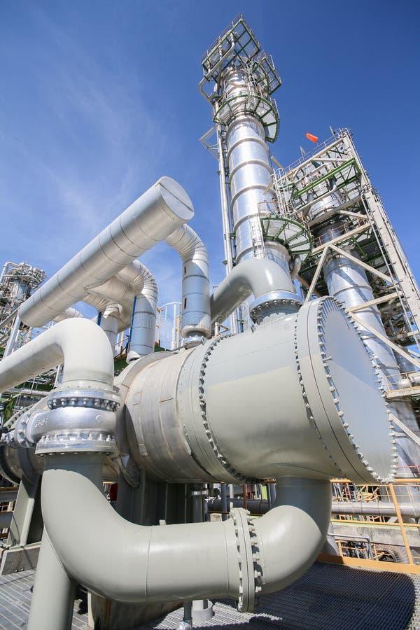 Ανταλλάκτης θερμότητας στις βιομηχανικές εγκαταστάσεις στοκ φωτογραφίες με δικαίωμα ελεύθερης χρήσης