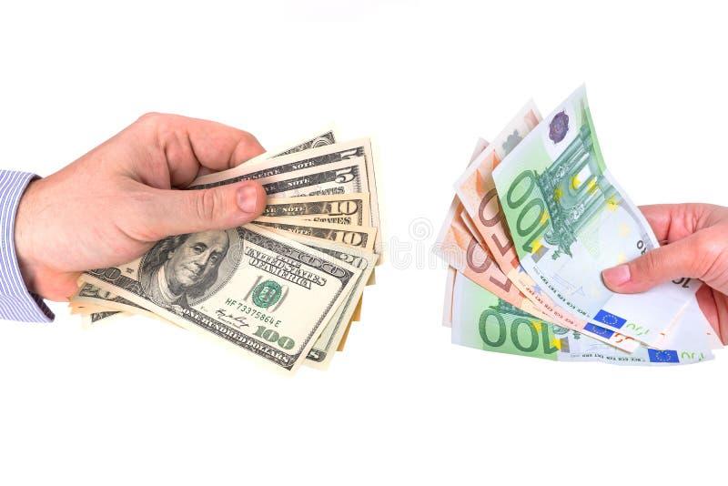 Ανταλλαγή νομίσματος στοκ φωτογραφία με δικαίωμα ελεύθερης χρήσης