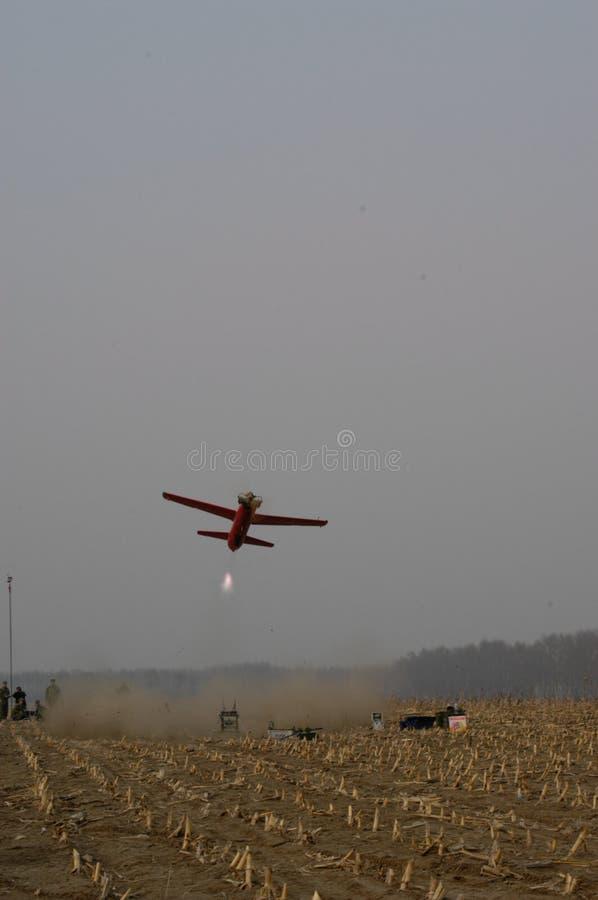 Αντιαεροπορική κατάρτιση ομάδας πυροβολικού aeromodelling στοκ φωτογραφία με δικαίωμα ελεύθερης χρήσης
