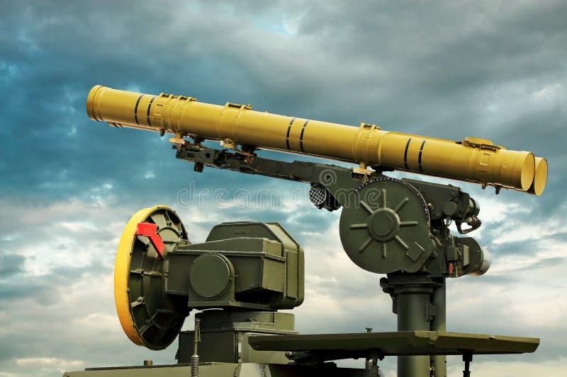 Αντιαρματικό πυραυλικό σύστημα στοκ φωτογραφίες