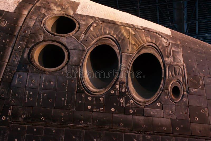 Αντιθερμική ασπίδα του διαστημικού λεωφορείου στοκ εικόνα με δικαίωμα ελεύθερης χρήσης