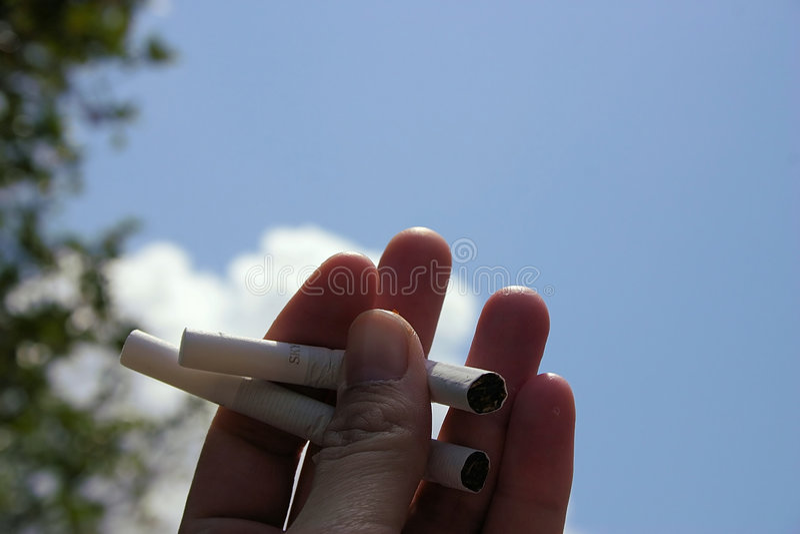 αντικαπνιστικός στοκ φωτογραφία με δικαίωμα ελεύθερης χρήσης