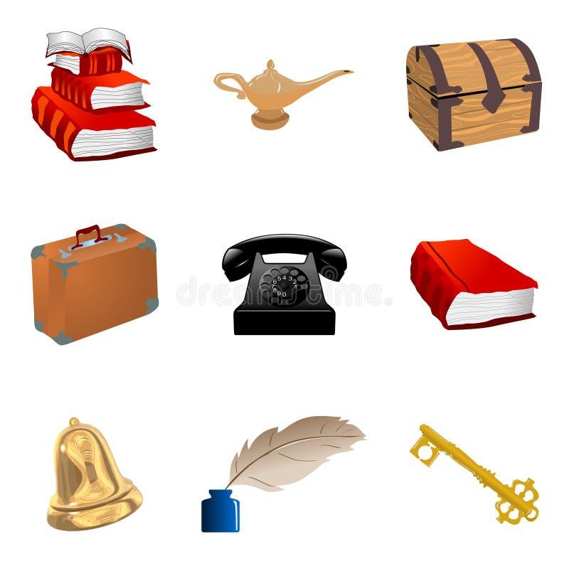 αντικείμενα που τίθεντα&iota απεικόνιση αποθεμάτων