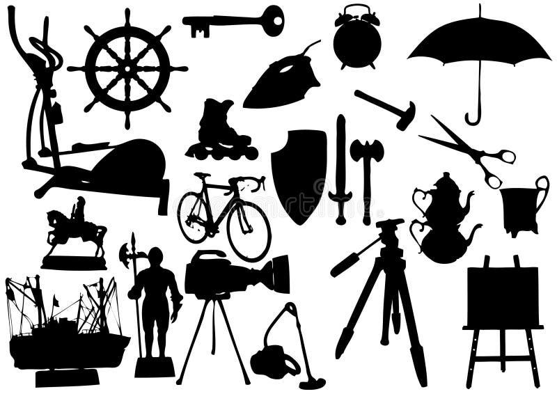 αντικείμενα απεικόνιση αποθεμάτων
