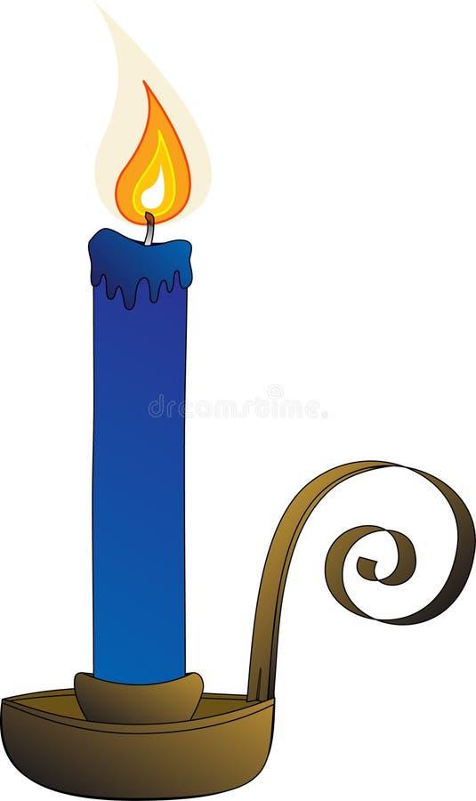 αντιμετωπισμένη κερί σπείρ&a διανυσματική απεικόνιση