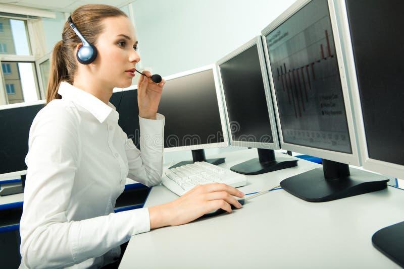 αντιπροσωπευτική εξυπηρέτηση πελατών στοκ εικόνα με δικαίωμα ελεύθερης χρήσης