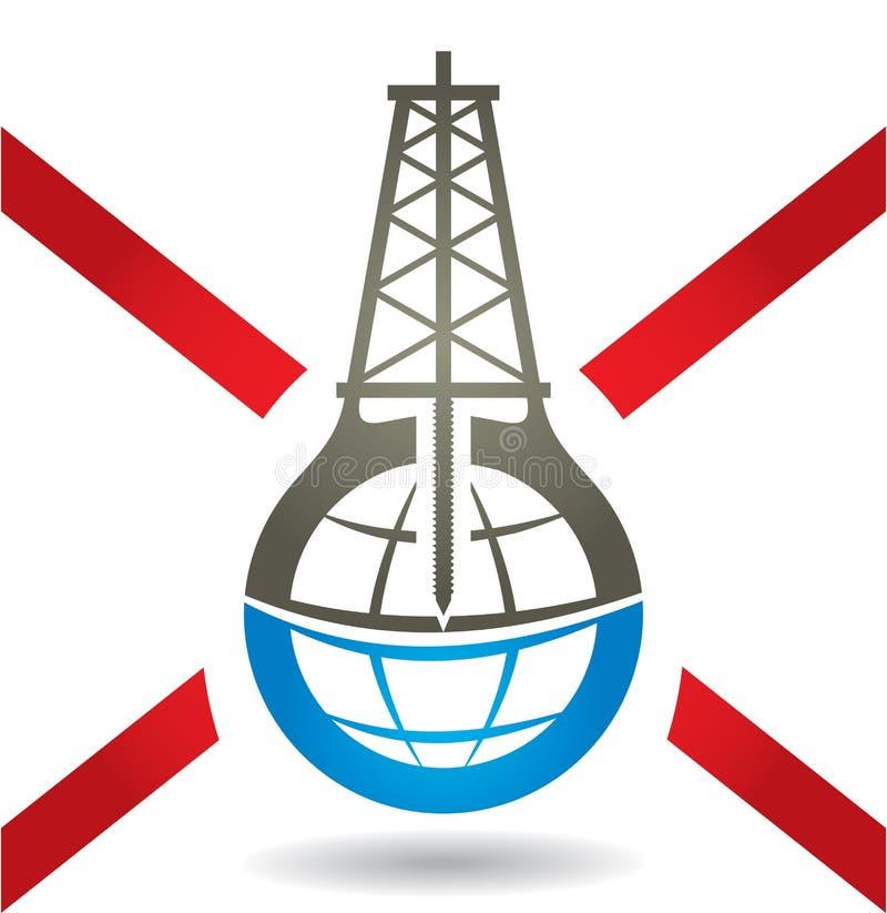 Αντι σημάδι Fracking διανυσματική απεικόνιση