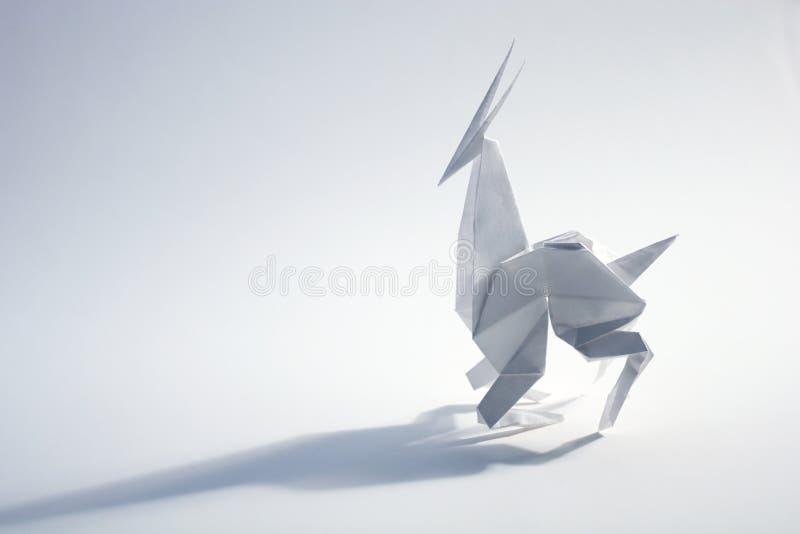 Αντιλόπη Origami στοκ φωτογραφία με δικαίωμα ελεύθερης χρήσης