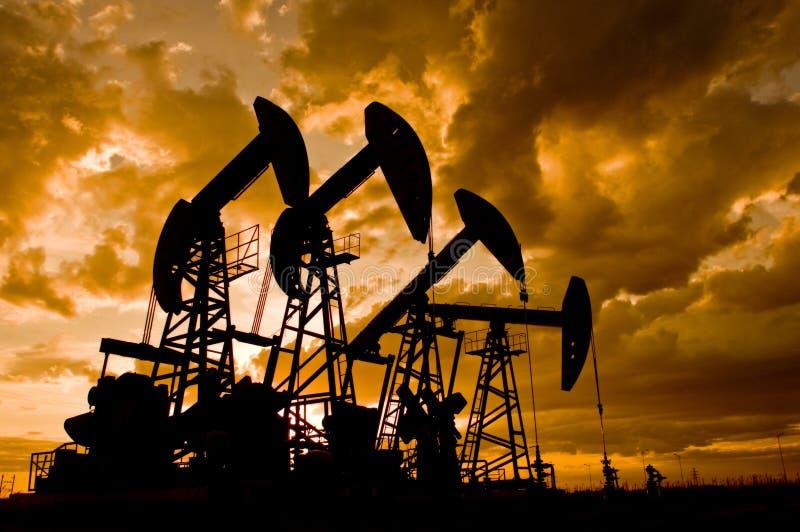 αντλία πετρελαίου στοκ φωτογραφίες με δικαίωμα ελεύθερης χρήσης