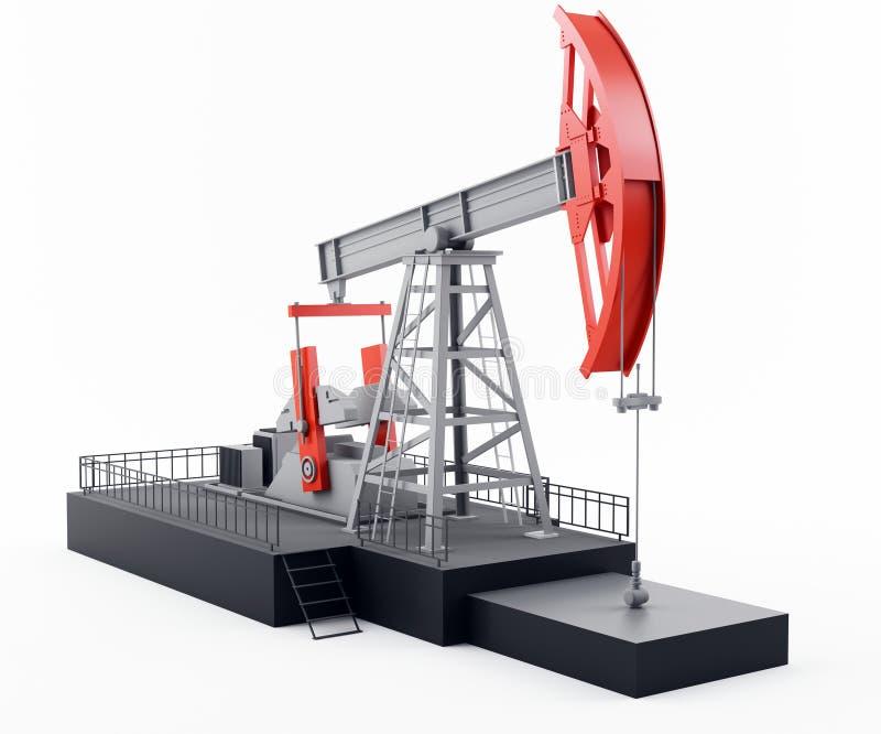 αντλία πετρελαίου διανυσματική απεικόνιση