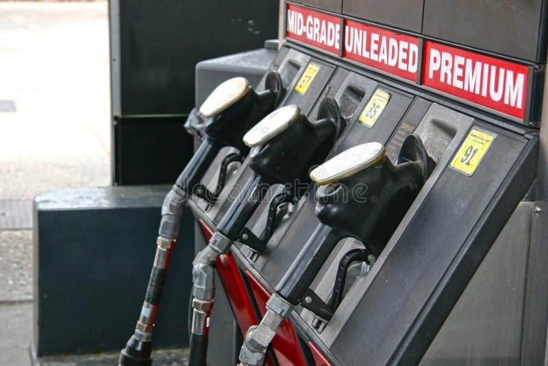 αντλίες αερίου στοκ φωτογραφία με δικαίωμα ελεύθερης χρήσης