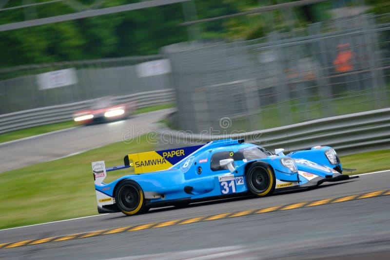 Αντοχή 4η της σειράς Monza - European Le Mans Series στοκ φωτογραφία