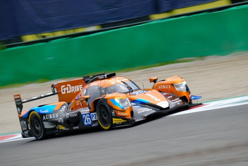 Αντοχή 4η της σειράς Monza - European Le Mans Series στοκ φωτογραφίες με δικαίωμα ελεύθερης χρήσης