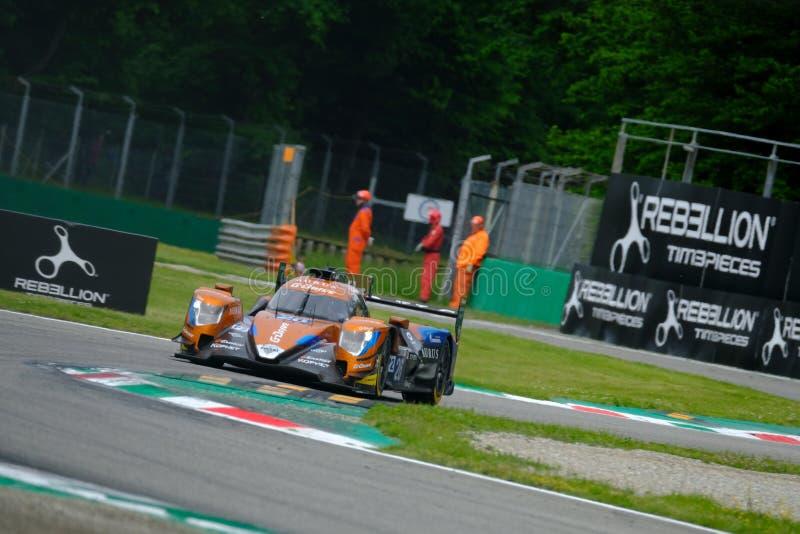 Αντοχή 4η της Monza - European Le Mans Series - Φυλή στοκ εικόνες