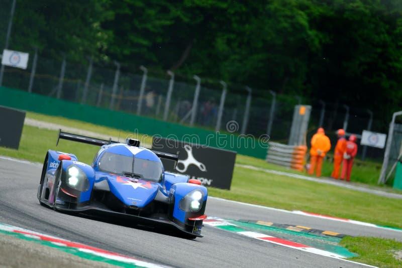 Αντοχή 4η της Monza - European Le Mans Series - Φυλή στοκ φωτογραφία με δικαίωμα ελεύθερης χρήσης