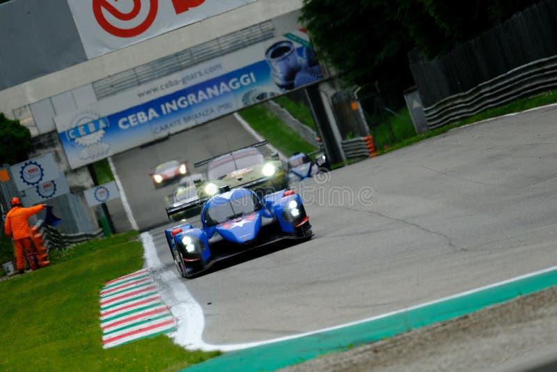 Αντοχή 4η της Monza - European Le Mans Series - Φυλή στοκ φωτογραφία