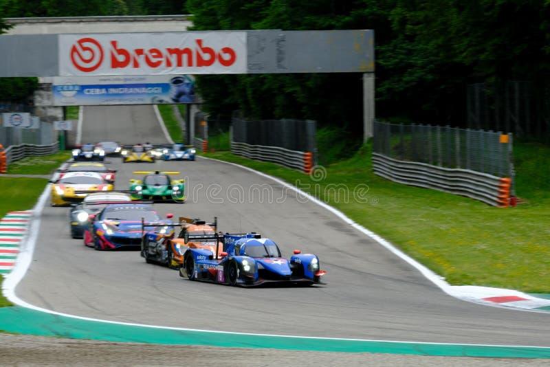 Αντοχή 4η της Monza - European Le Mans Series - Φυλή στοκ εικόνα