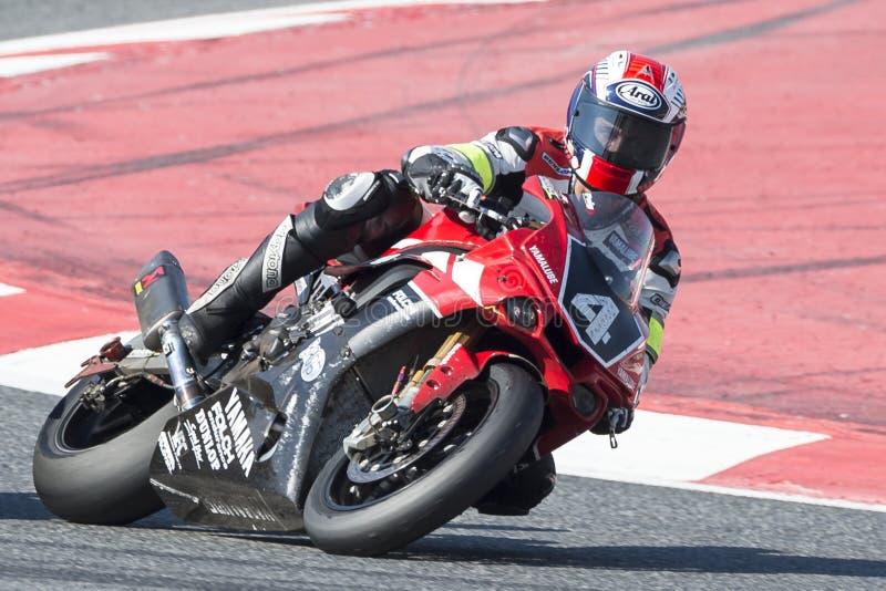 Αντοχή Yamalube Folch ομάδας 24 ώρες Motorcycling Catalunya στοκ εικόνες με δικαίωμα ελεύθερης χρήσης