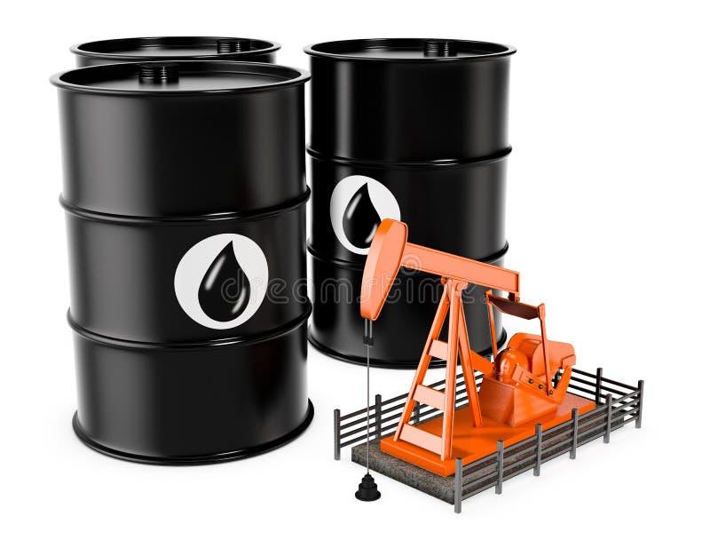 αντλία Ρωσία πετρελαίου βιομηχανίας απεικόνιση αποθεμάτων