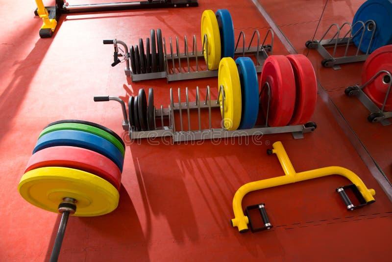 Ανυψωτικός εξοπλισμός φραγμών βάρους γυμναστικής ικανότητας Crossfit στοκ εικόνα με δικαίωμα ελεύθερης χρήσης