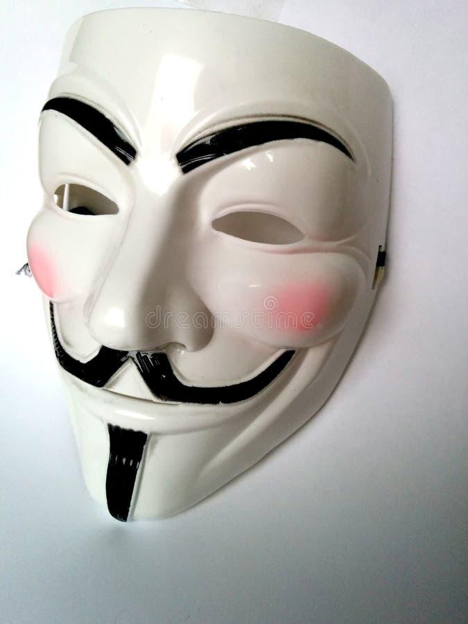 Ανώνυμη μάσκα στοκ εικόνες με δικαίωμα ελεύθερης χρήσης