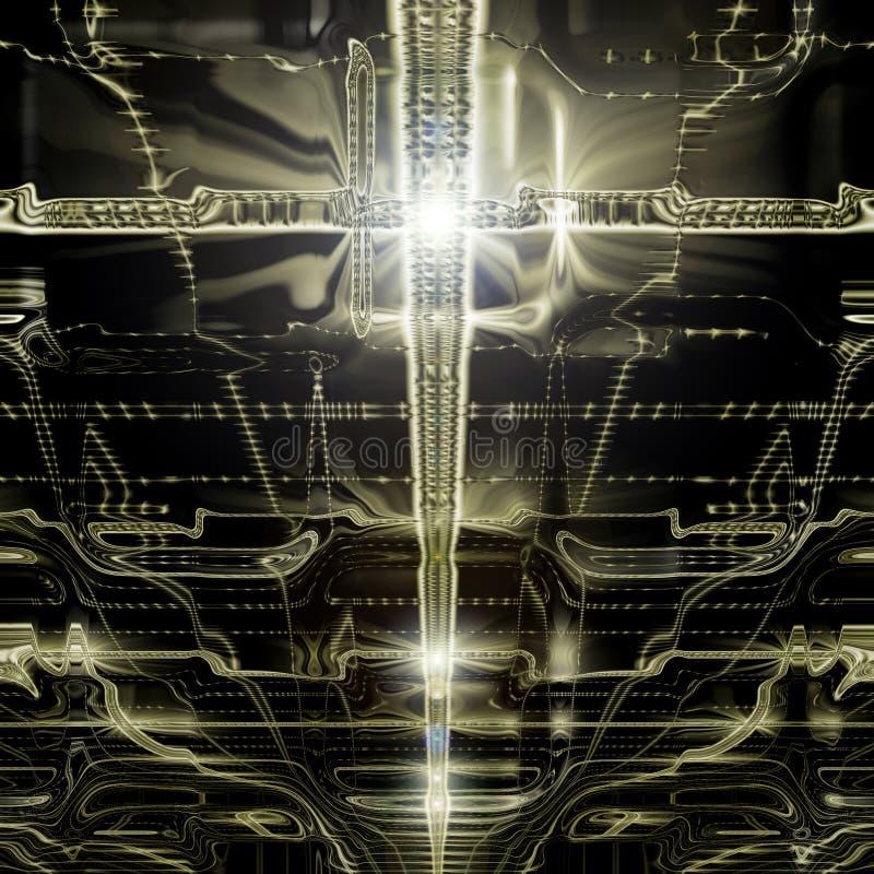 ανώτατο γυαλί διανυσματική απεικόνιση