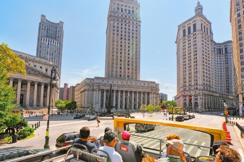 Ανώτατο δικαστήριο κομητειών της Νέας Υόρκης και Ηνωμένο Εφετείο στοκ εικόνες