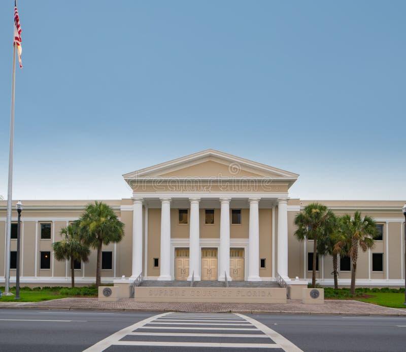 Ανώτατο δικαστήριο της Φλώριδας που χτίζει Tallahassee στοκ φωτογραφίες