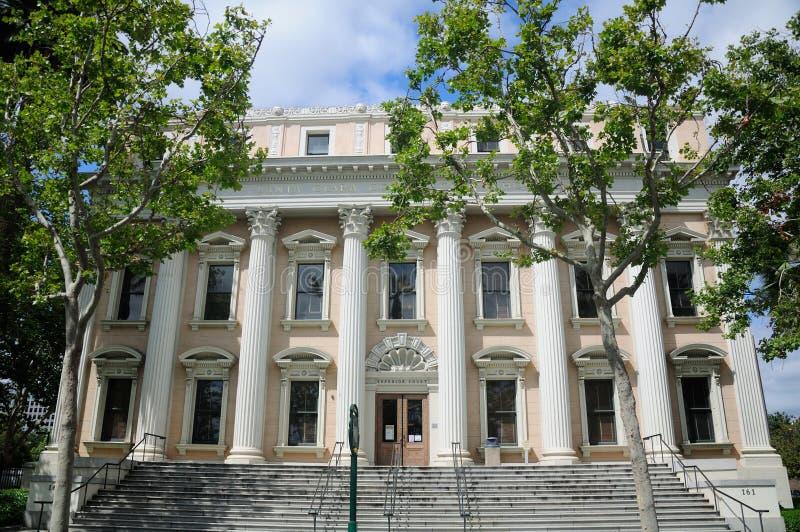 Ανώτατο Δικαστήριο του San Jose που χτίζει Καλιφόρνια στοκ εικόνα
