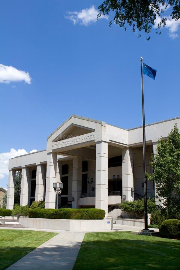 Ανώτατο δικαστήριο Νεβάδα στοκ φωτογραφία με δικαίωμα ελεύθερης χρήσης