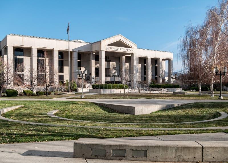 Ανώτατο δικαστήριο της Νεβάδας, πόλη του Carson στοκ φωτογραφία